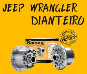 Bloqueio Diferencial Kaiser 100% - Jeep Wrangler (Dianteiro / 2007 ON)