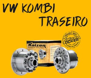 Bloqueio Diferencial Kaiser 100% - VW Kombi (Traseiro / Até 2006)