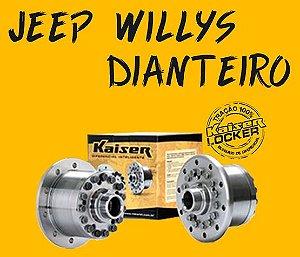 Bloqueio Diferencial Kaiser 100% - Jeep Willys (Dianteiro / Z=19 - Ratio 3.92 UP / Todos os Anos)
