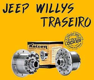 Bloqueio Diferencial Kaiser 100% - Jeep Willys (Traseiro / Z=19 - Ratio 3.92 UP / Todos os Anos)