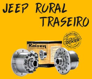 Bloqueio Diferencial Kaiser 100% - Rural (Traseiro / Z=19 - Ratio 3.92 UP / Todos os Anos)