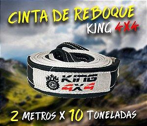 Cinta Reboque Offroad King 4x4 - 2 Metros X 10 Toneladas