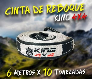 Cinta Reboque Offroad King 4x4 - 6 Metros X 10 Toneladas