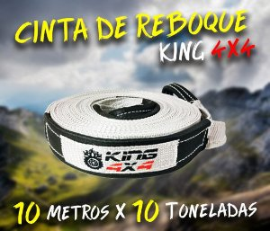 Cinta Reboque Offroad King 4x4 - 10 Metros X 10 Toneladas