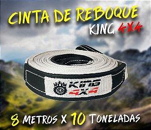 Cinta Reboque Offroad King 4x4 - 8 Metros X 10 Toneladas