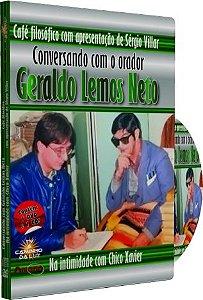 Café filosófico Conversando com o Orador Geraldo Lemos Neto Na Intimidade com Chico Xavier