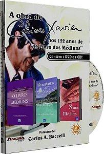 """A Obra de Chico Xavier nos 152 anos de """"O Livro dos Médiuns"""" - Carlos A. Baccelli"""
