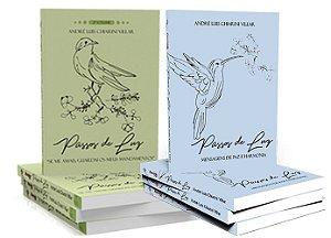 """Combo Promocional: 2 Livros Série Passos de Luz -  André Luis Chiarini Villar -  Vol. 1 """"Mensagens de Paz e Harmonia"""" e Vol. 2 - """"Se Me Amais, Guardais os Meus Mandamentos"""""""
