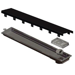 Ralo Linear Versatille Tampa Black Matte 50cm Ref. 4254 Ralo Linear