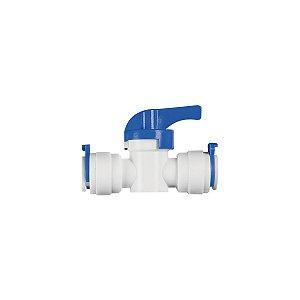 """Válvula de Fechamento 3/8"""" Branca Ref. CN012 Planeta Água"""