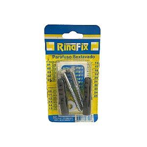 Kit Parafuso 5/16x70 com Bucha 12 Encartelado com 2 peças Rinafix