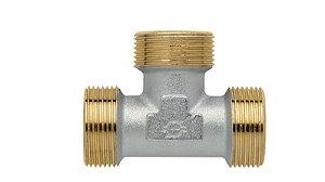 Tê de Roscar para Gás 16/20mm 1338k854 Emmeti
