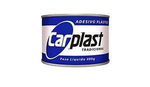 Massa Plástica 400g Cinza Carplast