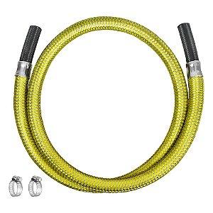 """Ligação Flexível para Gás 3/8"""" x 100cm Ref. 3006 Roco"""