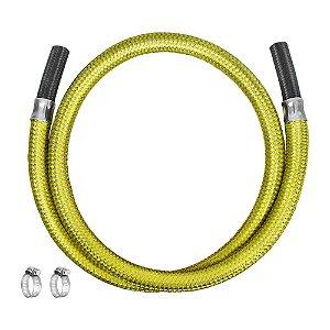 """Ligação Flexível para Gás 3/8"""" x 125cm Ref. 3007 Roco"""