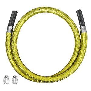 """Ligação Flexível para Gás 3/8"""" x 150cm Ref. 3008 Roco"""