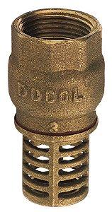 """Válvula de Sucção DN20 3/4"""" 30010600 Docol"""