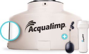 Caixa D'Água Água Limpa 2.500L Acqualimp