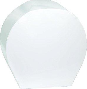 Dispenser de Papel Higiênico Rolo 300m ABS Branco Meta