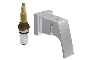 """Acabamento para Registro 4916 C92 PQ de Pressão com Mecanismo MVR 1/2"""" a 1"""" Acqua Deca"""