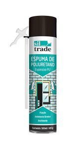 Espuma de Poliuretano 500ml Sil Trade