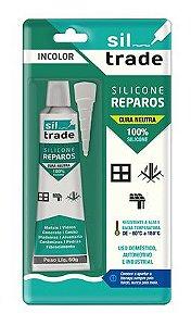 Silicone Reparos 50g Incolor Sil Trade