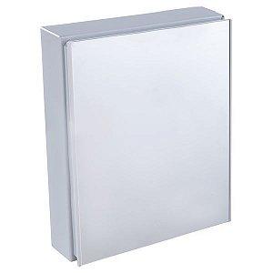 Armário Plástico para Banheiro 45x36x10cm Cinza A44 Astra