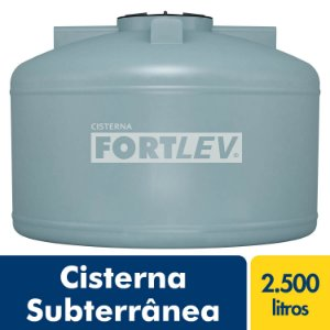 Cisterna Vertical 2.500L Fortlev