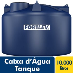 Tanque Polietileno 10.000L Fortlev