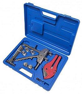 Kit Prensa de Montagem Pex Pequena 16 a 25mm(Maleta) Nicoll