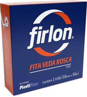 Fita Veda Rosca 18mm x 10 Metros Firlon