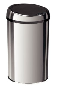 Lixeira Inox Automática Sensor Easy 12 litros Tramontina