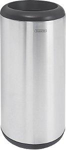 Lixeira Inox sem Tampa Capsula 15 litros Tramontina