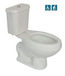 Bacia para Caixa Acoplada Alpínia Acessibilidade Branca Fiori