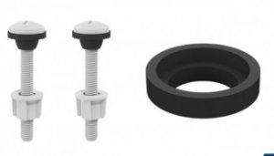 Kit Fixação e Vedante para Caixa Acoplada 9583 Censi
