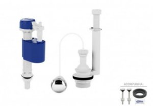Kit para Caixa Acoplada Masterflux + Acionamento Air Touch 9544 Censi