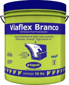Viaflex Branco 18kg Laje Viapol