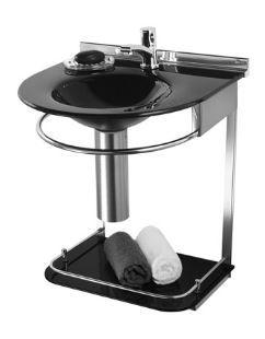Lavabo Cris-Mold 50cm Ref.972 Preto Cris-Metal