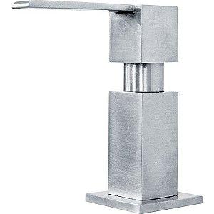 Dosador de Sabão Quadrado Inox Escovado Ref.13320 Franke