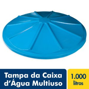 Tampa para Caixa D'Água Polietileno Multiuso 1.000L Fortlev