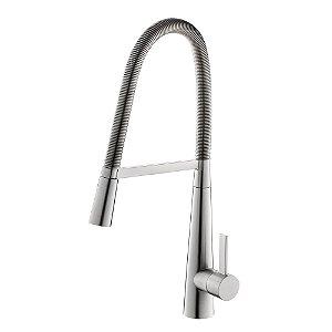 Misturador Monocomando para Cozinha de Mesa Rome WJ-7060-105A Jiwi