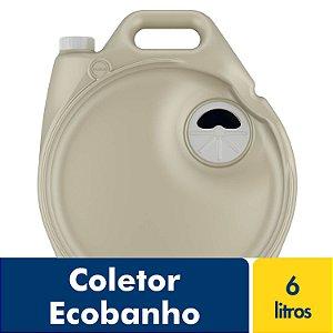 Coletor Ecobanho 6 litros Fortlev