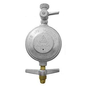 Regulador de Gás Doméstico 2kg/h sem Mangueira 503/10 Aliança