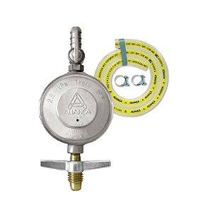 Regulador de Gás Doméstico 1kg/h com Mangueira 80cm 504/01 Aliança