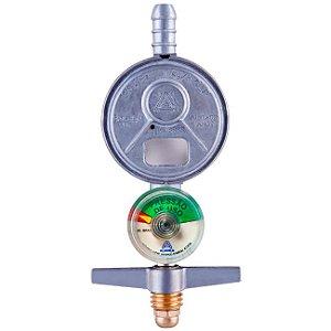 Regulador de Gás Doméstico 1kg/h com Manômetro 505/1 Aliança