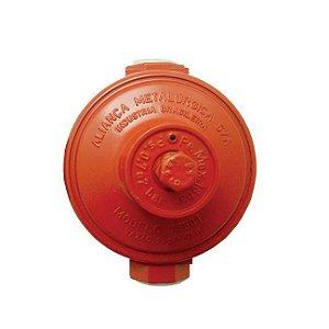 Regulador de Gás Industrial 9kg/h Vermelho 76501/01 Aliança