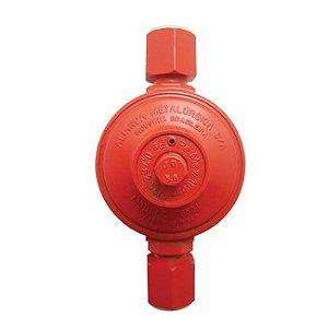 Regulador de Gás Industrial 9kg/h Vermelho 76501/02 Aliança