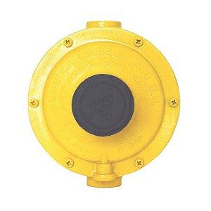 Regulador de Gás Industrial 50kg/h Amarelo 76510 Aliança