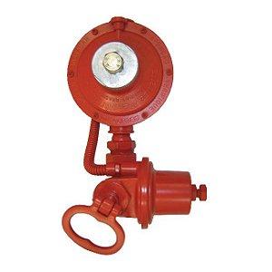 Regulador de Gás Industrial 15kg/h Vermelho DSA 76511/02 Aliança