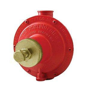 Regulador de Gás Industrial 30kg/h Vermelho 76511/03 Aliança